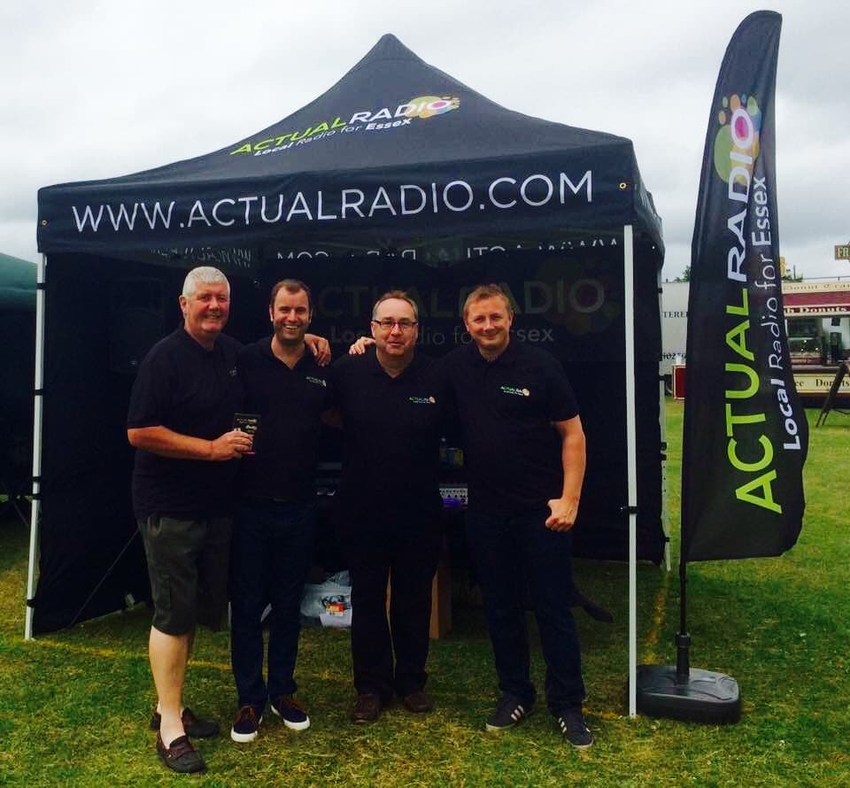Actual Radio Colchester Roadshow Team