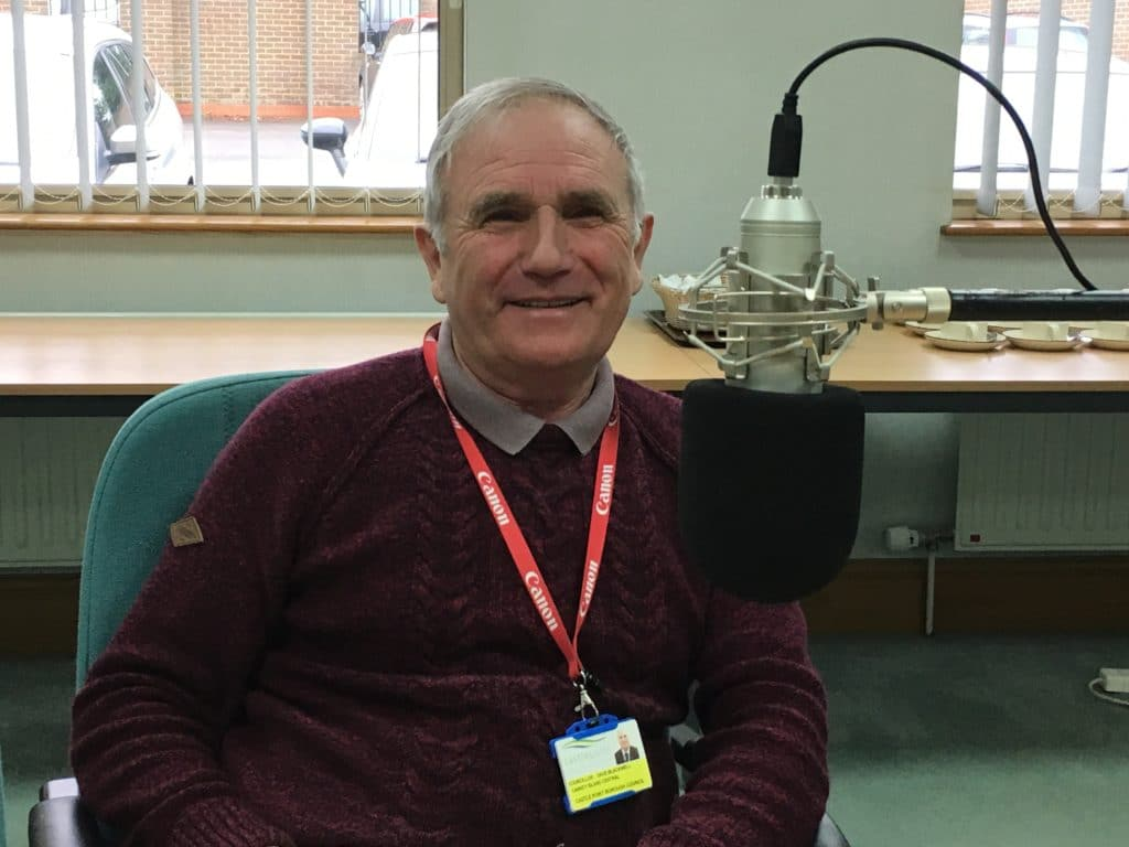 Essex County Councillor Dave Blackwell is Dave the Gardener on Actual Radio Essex