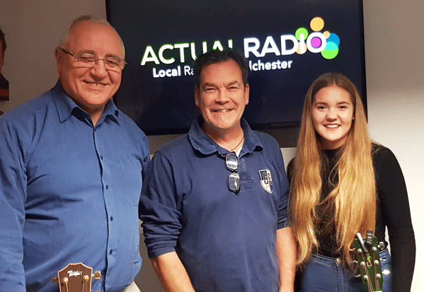 Colin Davies and Anna Bruce on Actual Radio
